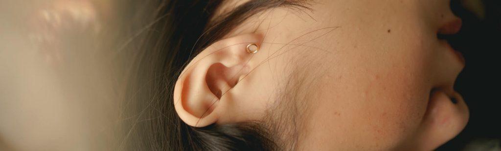 little girl's ear